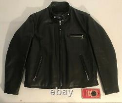 Cafe racer SCHOTT 641HH Horsehide taille US 44 / taille EUR L (VANSON style)