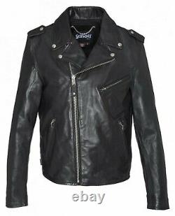 Schott Ny Perfecto Jacket Lc1140icon Black Leather Cowhide