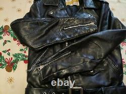 Schott perfecto one star 613/618 size 34 Made in 80's